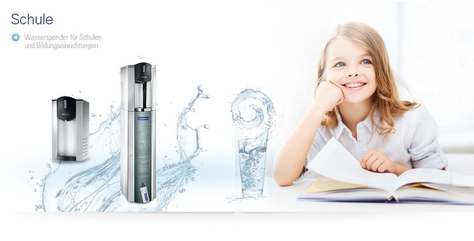 Wasserspender für Krankenhäuser und Pflegeeinrichtungen