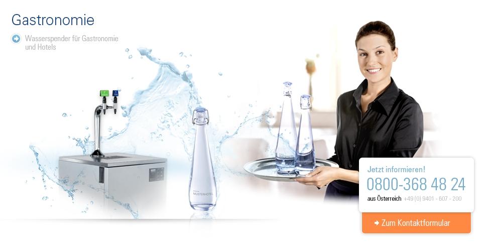 Wasserspender für Gastronomie und Hotels