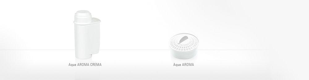 AquaAroma-filterpatroon in bruisend water