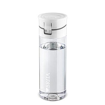 BRITA Fill&Go Wasserfilter-Flasche grau 0,6 l + 4 Filter Disks