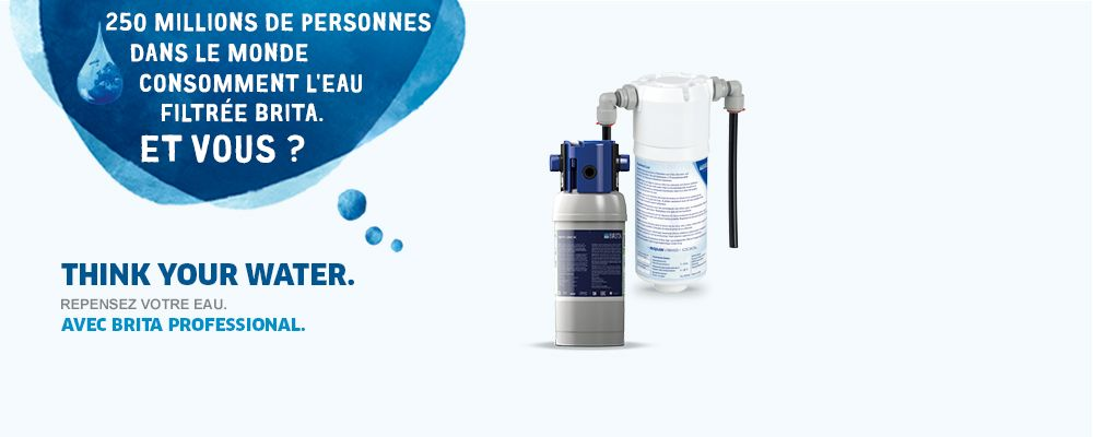 Fontaines d'eau BRITA Professional