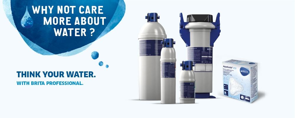 water optimisation for fresh filtered water brita