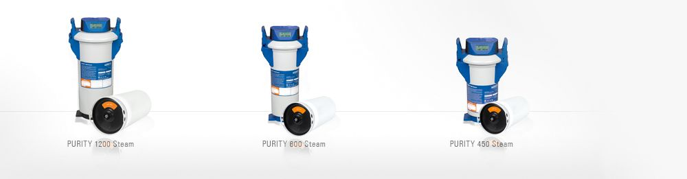 PURITY Steam Filtersystem mit Kartusche